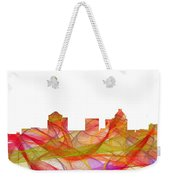 Greensboro North Carolina Skyline Weekender Tote Bag