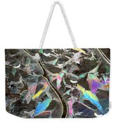 6. Ice Prismatics, Slaley Woods Weekender Tote Bag