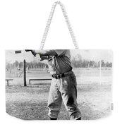 Jackie Robinson (1919-1972) Weekender Tote Bag