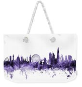 London England Skyline Weekender Tote Bag