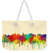 Madison Wisconsin Skyline Weekender Tote Bag