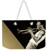 Miles Davis Collection Weekender Tote Bag
