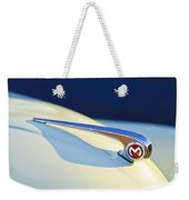 Morris Minor 1000 Hood Ornament Weekender Tote Bag