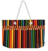 Multicolored Pencils  Weekender Tote Bag