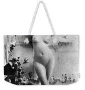 Nude Posing, C1900 Weekender Tote Bag