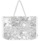 On The Road With 36 Digits Of Pi Weekender Tote Bag