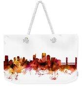 Sacramento California Skyline Weekender Tote Bag