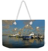 6- Sailfish Marina Weekender Tote Bag