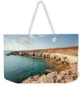 Sea Caves Ayia Napa - Cyprus Weekender Tote Bag