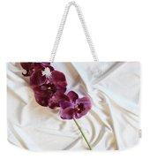 Silk Flower Weekender Tote Bag