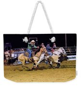 Steer Roping Weekender Tote Bag