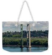 Tacoma Narrows Bridge Weekender Tote Bag