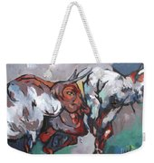 The Bulls Weekender Tote Bag