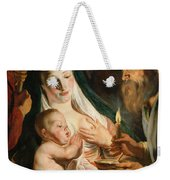 The Holy Family With Shepherds Weekender Tote Bag