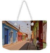 Traversing Santiago De Cuba, Cuba. Weekender Tote Bag