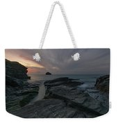 Trebarwith Strand - Cornwall Weekender Tote Bag