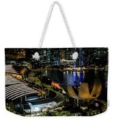 View From Flyer Weekender Tote Bag