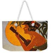 Vintage Hawaiian Art Weekender Tote Bag