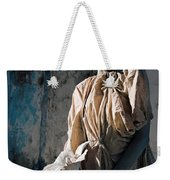 Woman In Bronze Statue Look With Patina Body Paint Weekender Tote Bag