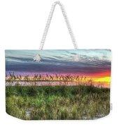 Yorktown Beach At Sunrise Weekender Tote Bag