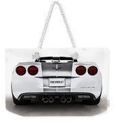 60th Anniversary Corvette Weekender Tote Bag