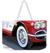 61 Corvette Weekender Tote Bag