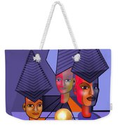 634 -  The Golden Gift . A.. Weekender Tote Bag