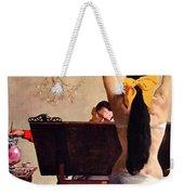 A Partner In Productive Advertising Alfred Parker Weekender Tote Bag