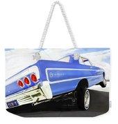 64 Impala Lowrider Weekender Tote Bag
