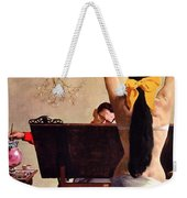 A Partner In Productive Advertising Alfred Parker Weekender Tote Bag