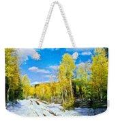 Landscape Paintings Canvas Prints Nature Art  Weekender Tote Bag
