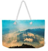 Nature Landscape Illumination Weekender Tote Bag