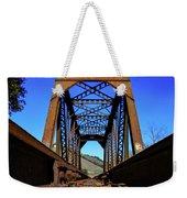 6696 Railroad Bridge Weekender Tote Bag