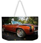 '69 Camaro Weekender Tote Bag