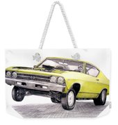 69 Chevelle Ss Weekender Tote Bag