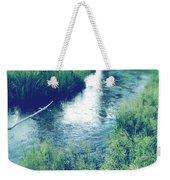 Spring Water Weekender Tote Bag