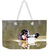 6966 - Wood Duck Weekender Tote Bag