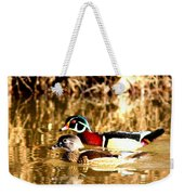 6980 - Wood Duck Weekender Tote Bag