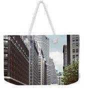 6th Avenue New York 1950 Weekender Tote Bag