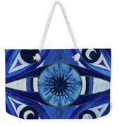 6th Mandala - Third Eye Chakra  Weekender Tote Bag