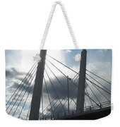 6th Street Bridge Backlit Weekender Tote Bag