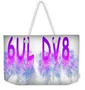 6ul Dv8 Weekender Tote Bag