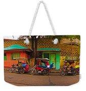 6x1 Philippines Number 48 Panorama Weekender Tote Bag