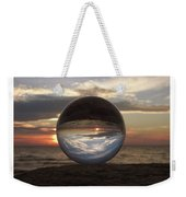 7-24-16--4250 Don't Drop The Crystal Ball, Crystal Ball Photography Weekender Tote Bag