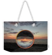 7-26-16--4581 Don't Drop The Crystal Ball, Crystal Ball Photography Weekender Tote Bag