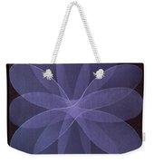 Abstract Flower  Weekender Tote Bag