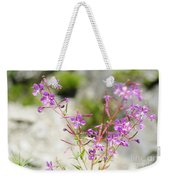 Alpine Wildflower Weekender Tote Bag