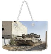 An Israel Defense Force Merkava Mark II Weekender Tote Bag