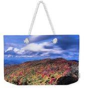 Beautiful Autumn Landscape In North Carolina Mountains Weekender Tote Bag