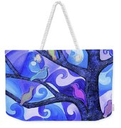 7 Birds On A Tree Weekender Tote Bag